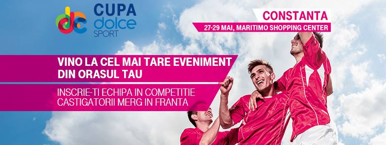Cupa Dolce Sport ajunge in Constanta, la Maritimo, intre 27 si 29 mai 2016