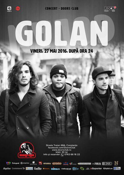 golan concert doors constanta afis