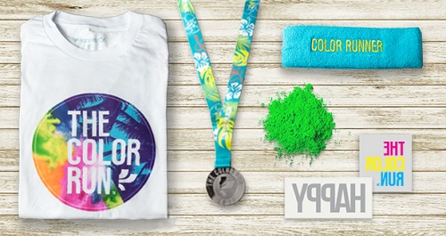 kit the color run mamaia