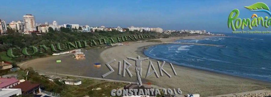 Constanta vrea in Cartea Recordurilor cu cel mai mare sirtaki – Plaja Modern, 28 mai, ora 18