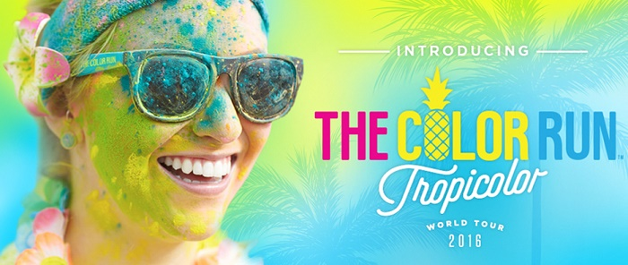 tropicolor the color run 2016