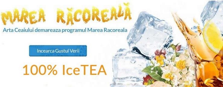 Marea Racoreala – campanie Arta Ceaiului pentru promovarea ice tea-ului autentic