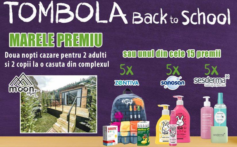 SpringFarma te trimite la MOONte! Back to School și o tombolă cu premii!